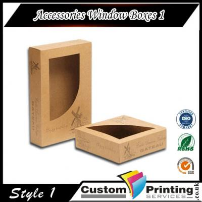 Accessories Window Boxes Printing