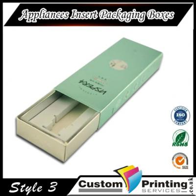 Appliances Insert Packaging Boxes Printing
