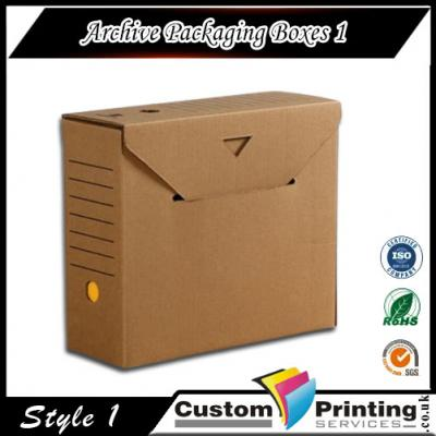 Archive Packaging Boxes Printing