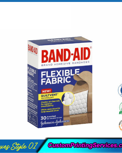 Bandage Packaging Boxes