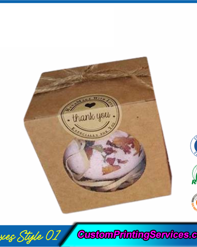 Bath Bomb Packaging Boxes