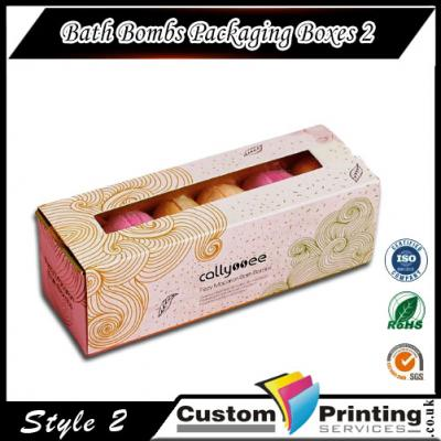 Bath Bomb Packaging Boxes printing