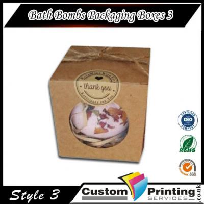 Bath Bombs Packaging Boxes printing