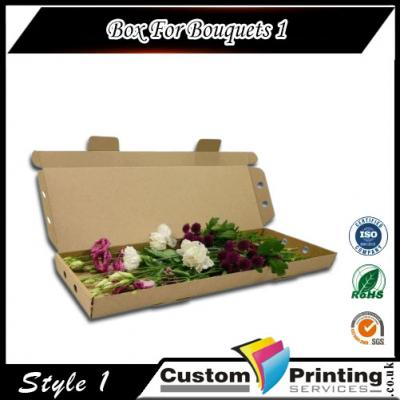 Box For Bouquets Printing