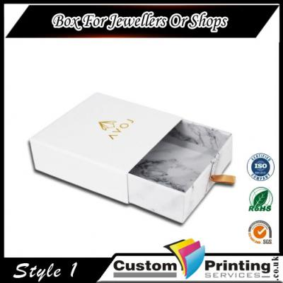 Box For Jewellers or Shops Printing