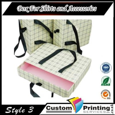 Box For Shirts and Accessories Printing