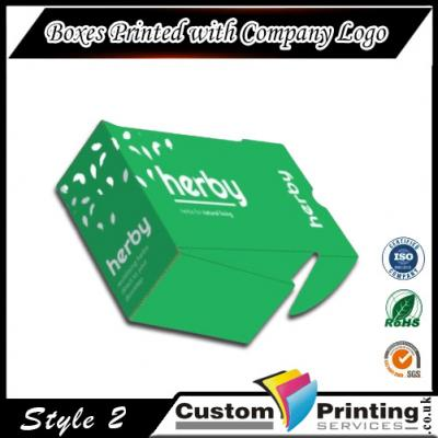 Boxes Printed with Company Logo Printing