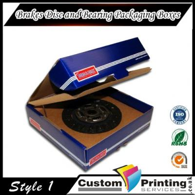 Brakes Disc and Bearing Packaging Boxes Printing