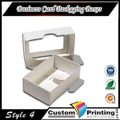 Business Card Packaging Boxes Printing