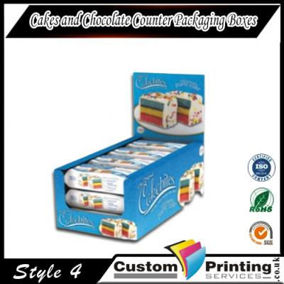 Cakes and Chocolate Counter Packaging Boxes Printing