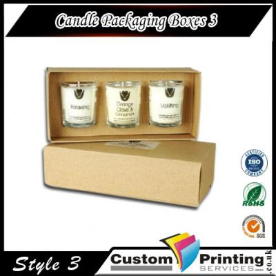 Candle Packaging Boxes Printing