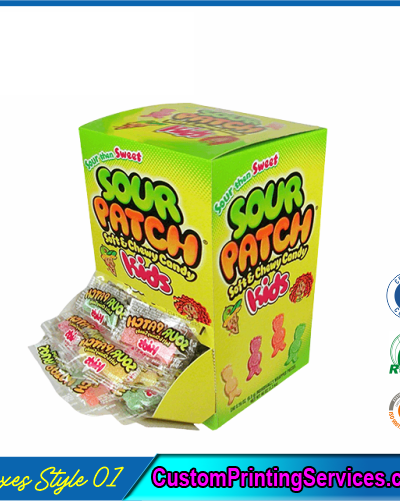 Candy Retail Boxes