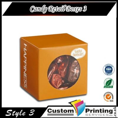 Candy Retail Boxes Printing