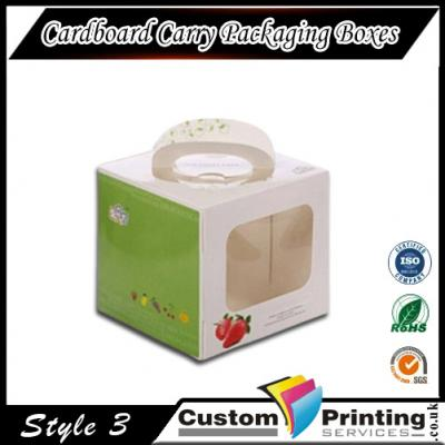 Cardboard Carry Packaging Boxes Printing