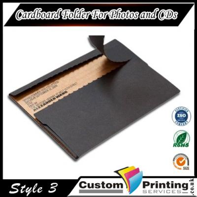 Cardboard Folder For Photos and CDs Printing
