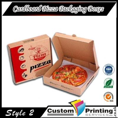 Cardboard Pizza Packaging Boxes Printing