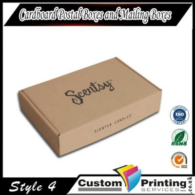 Cardboard Postal Boxes and Mailing Boxes in UK Printing