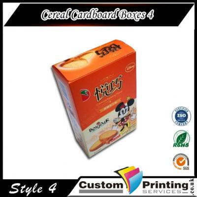 Cereal Cardboard Boxes Printing