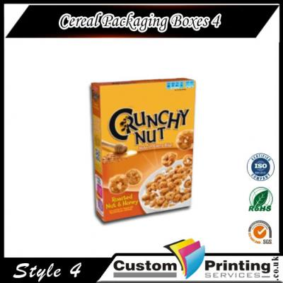 Cereal Packaging Boxes Printing