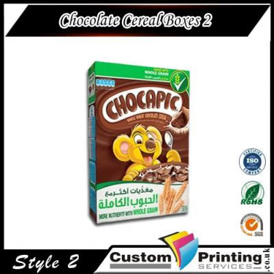Chocolate Cereal Boxes Printing