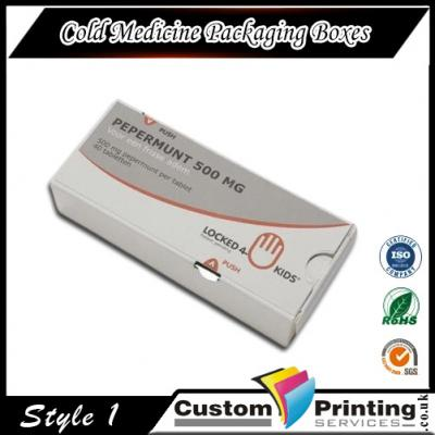 Cold Medicine Packaging Boxes Printing