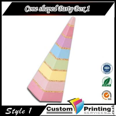 Cone-shaped Party Box Printing