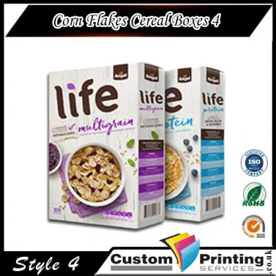 Corn Flakes Cereal Boxes Printing
