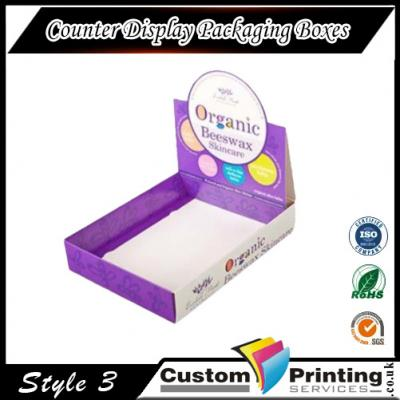 Counter Display Packaging Boxes Printing