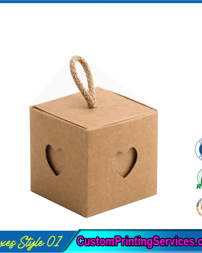 Cube Gift Boxes With Sleeve