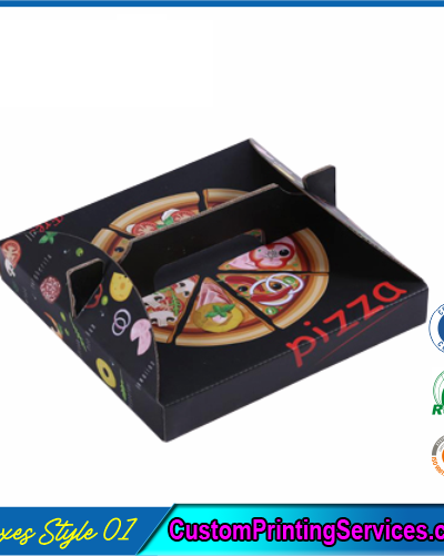 Digital Printed Pizza Boxes