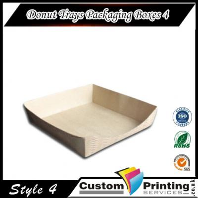 Donut Trays Packaging Boxes printing