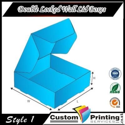 Double Locked Wall Lid Boxes Printing