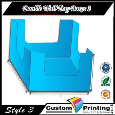 Double Wall Tray Boxes printing
