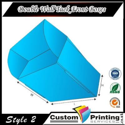 Double Wall Tuck Front Boxes Printing