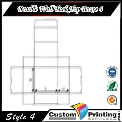 Double Wall Tuck Top Boxes printing