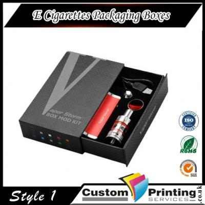 E Cigarettes Packaging Boxes Printing
