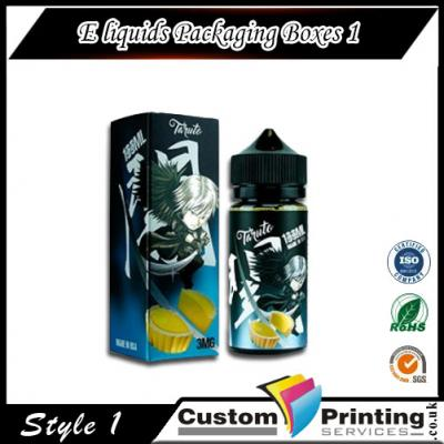 E-liquids Packaging Boxes Printing