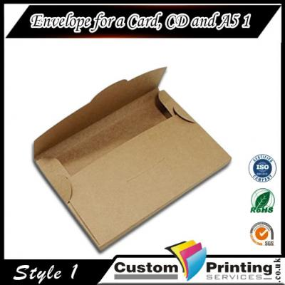 Envelope for a Card Printing
