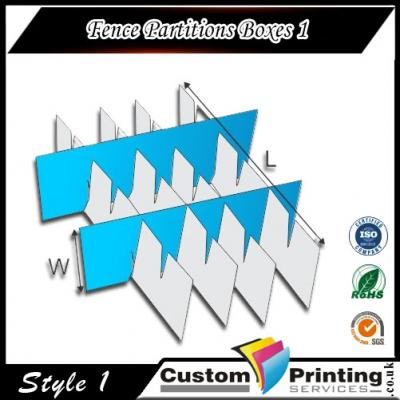 Fence Partitions Boxes Printing