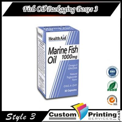 Fish Oil Packaging Boxes Printing