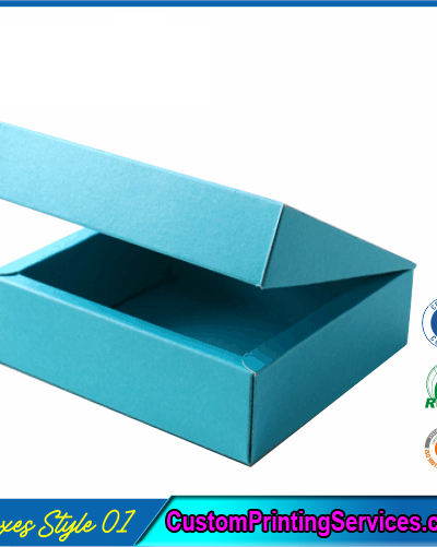 Flanged Gift Boxes With Lid