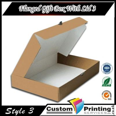 Flanged Gift Box With Lid Printing