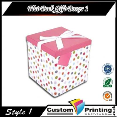 Flat Pack Gift Boxes Printing