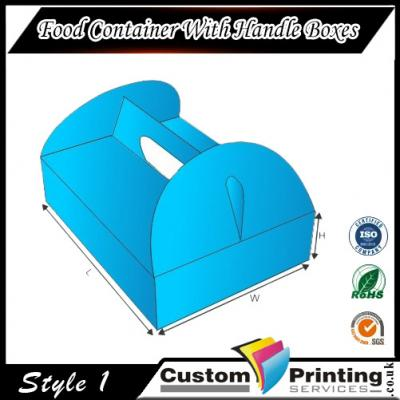 Food Container With Handle Boxes Printing