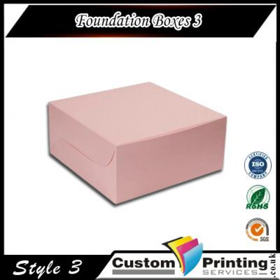 Foundation Boxes Printing