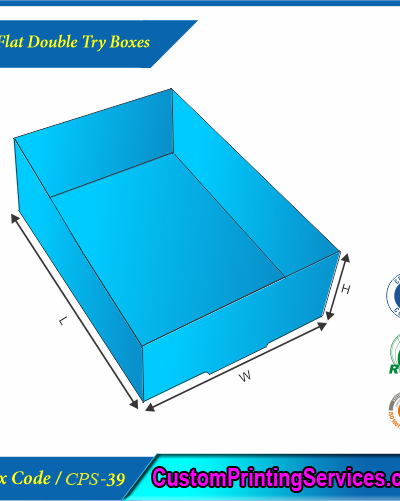 Full Flat Double Try Boxes