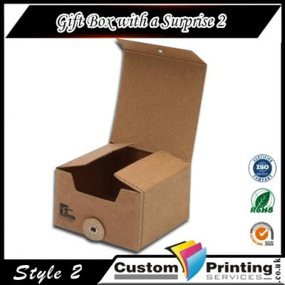 Gift Box with a Surprise Printing