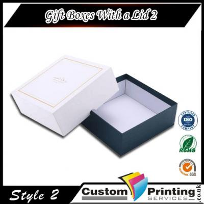 Gift Boxes With a Lid Printing