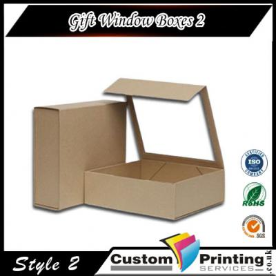 Gift Window Boxes Printing