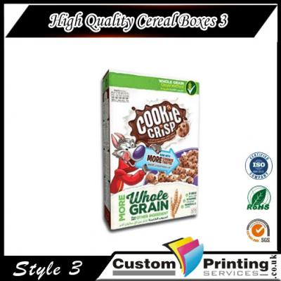 High Quality Cereal Boxes Printing